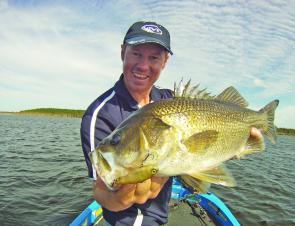 Lake Gregory (Isis Balancing Storage) holds some monster bass. Soft lipless crankbaits hopped through the schooling fish is a great way to entice them.