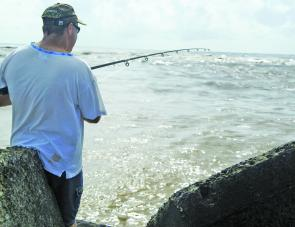 Most of the action will take place close to the river mouth, with bream, tailor and blackfish in good numbers.