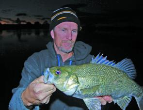 Don't forget to work the salad bar after dark – this is when the big bass usually come out to play.