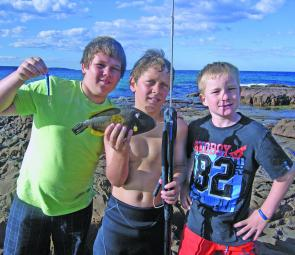 Spearfishing gear has gone hi tech with camouflage wetsuits and