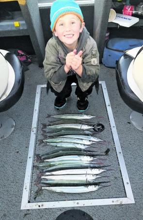 Garfish are great for kids to catch and are one of Victoria's premier table fish.