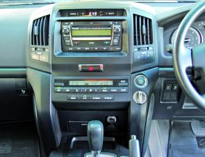 The ergonomically functional dash layout sees all functions and features within easy view or reach of the driver.