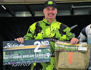 Tony Pettie came second place and was one of the few anglers to bag out on both days, turning a tough weekend for fishing into an awesome near-victory.