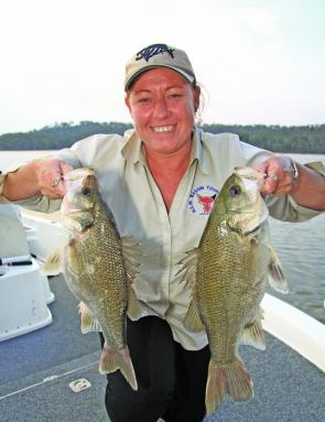 Big bass will put a smile on anyone's dial and the South Burnett is a hub for bass anglers of all persuasions.