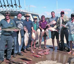 While the focus has been on snapper, the kingfish and amberjack have been far too entertaining to drive past.