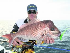 Snapper like this will still be very viable targets this month.