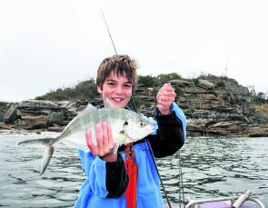 Trevally make great sport and good tucker either raw or cooked.