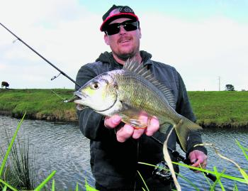 Bream fishing in the local river estuaries is a good option at this time of year.