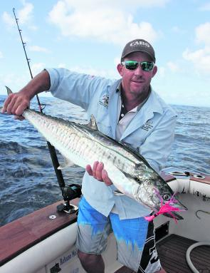 Spanish mackerel will still be around and cruising the closer reefs.