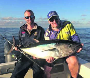 Don't write tuna off. Matt Walton and Craig Rushby will still be chasing them.