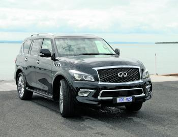 Polarising styling sets the Infiniti QX80 apart from many other large 4x4 luxury wagons.