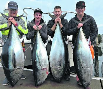 Topcat Charters has been getting in amongst the bluefin madness.