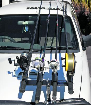 Fishing Monthly Magazines Bullbar Rod Holders Getting