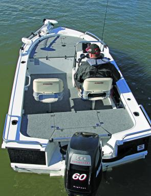 Fishing Monthly Magazines : Stacer 459 Barra Pro: Room at the top