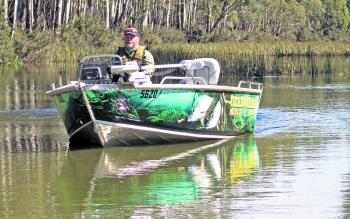 Tassie Boat Hire's 420 Quintrex Renegade rig is a complete turn-key package, ready for high end sport fishing in fresh or salt water and ABT-style tournament work.