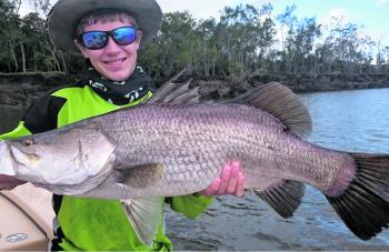 Barramundi are well known to frequent drains as they spill out bait.