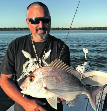 Pinky snapper are great fun on light line.