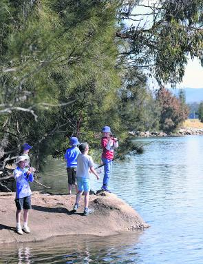 Taking a group of young mates fishing can be extremely rewarding — if a little hectic!