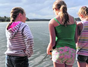 It's important for youngsters to learn that fishing is also about mateship and camaraderie.