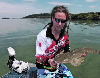 Flathead are still around, but will slow soon.