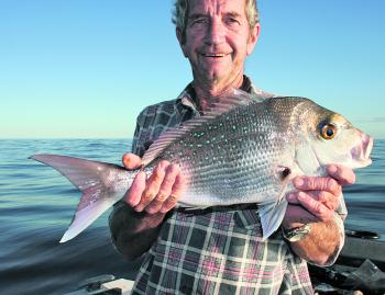 Snapper can still be taken on the inner reefs.