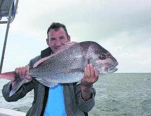 The snapper can be targeted around the shallow areas such as Murphys, Gneering, Sunshine and the Caloundra 7 and 12 Mile reefs.