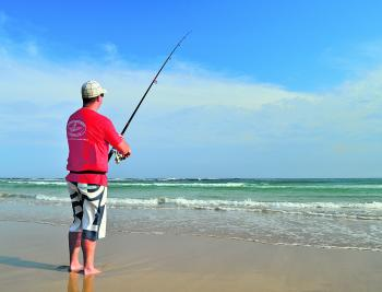 There is a lot of beach fishing fun to be enjoyed at this time of year and in the months ahead. Although a relatively simple form of fishing, it's best to be a little specific about things in order to bring results.