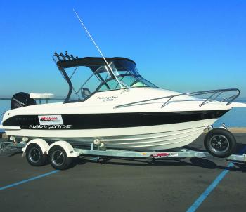 All Streaker boats supplied by Brisbane Marine come on customised Easytow trailers, which offer an easy drive-on, drive-off experience.