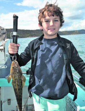 Flathead like this one can be caught while fishing Broken Bay.