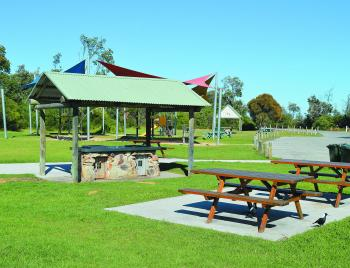 There are two great playground and parks. This is the one located at Eastern Beach.