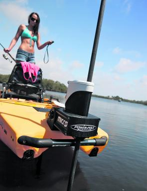 Fishing monthly magazines power pole micro anchor the for Power pole fishing
