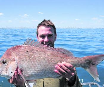 Dan Lee loves lightly weighted rigs in his home waters of Port Phillip Bay.