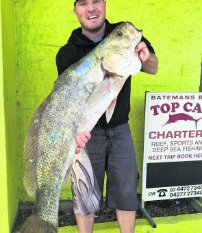 Daniel Dowley with a nice 16kg Clyde mulloway.