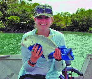 Trevally are great fun to catch and should be about in numbers throughout the Straights.