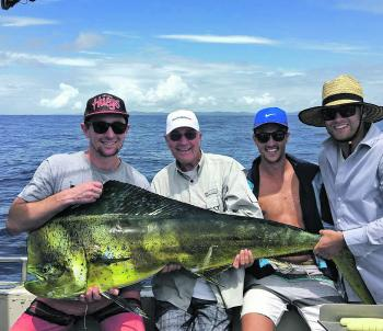 Big mahimahi are around and the first place to look is the FAD.