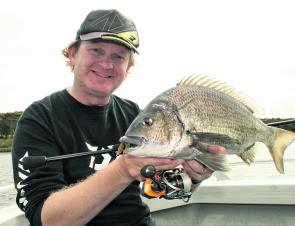 The Hopkins River has continued to improve and producing excellent sized bream.