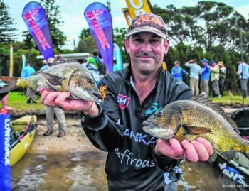 Richard Somerton took out the win again with some cracker 1kg+ bream.