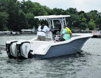 Fishing Monthly Magazines : Evinrude launch 150-200hp Generation 2 E