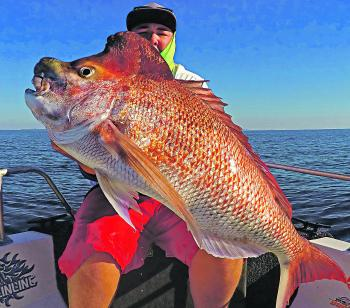 Glass-calm conditions with light currents make it easy to fish the depths for these trophy fish.