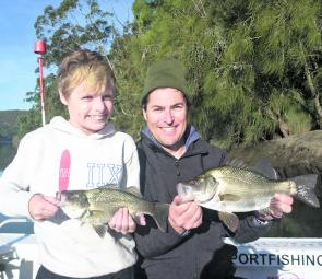Bass and EPs are back on the hit list and can be found feeding side by side at times, as David and son Riley found out recently.