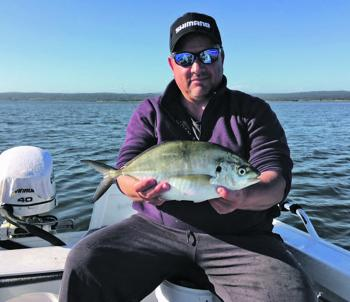 Silver trevally have anglers in the area excited.