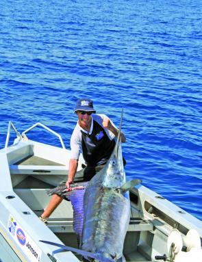 Anyone can give marlin fishing a go, it's not just for elitist fishers.
