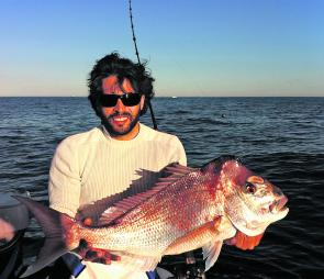 There have been some quality snapper taken in the deeper areas of the Barwon Banks.