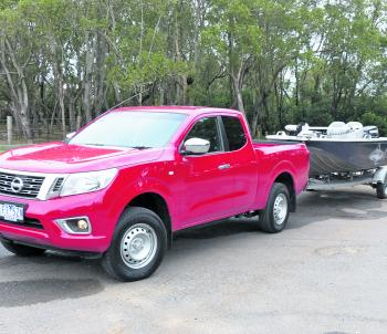 The Navara King Cab RX is a great asset for the boat owner who needs a work vehicle that doubles as a sturdy tow unit for weekends.