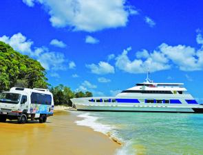 The Moreton Island Micat is the only vehicle ferry going to Moreton Island. Book early and take advantage of their accommodation and activity opportunities while booking your passage across Moreton Bay.