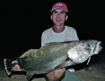 Although mulloway will certainly take lures, in the majority of cases, it's still best to stick with first class natural baits like calamari, tailor, mullet and so on.