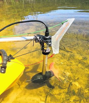 Fishing Monthly Magazines Torqeedo Ultralight