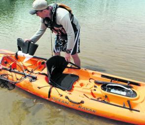 Fishing Monthly Magazines Ocean Kayak Prowler Torque