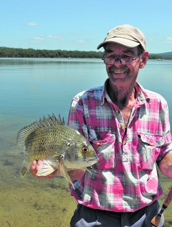 It looks like another good season for bream in our area.