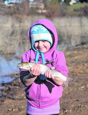 Even the kids will have fun catching a trout or two.